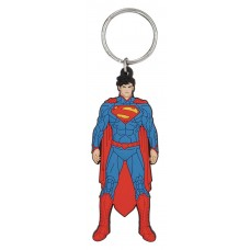 DC HEROES SUPERMAN SOFT TOUCH KEY RING (C: 1-1-2)