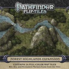 PATHFINDER RPG FLIP TILES FOREST HIGHLANDS EXP