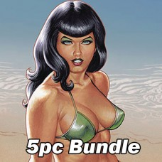 BETTIE PAGE #1 CVR A B C D E BUNDLE