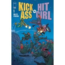 KICK-ASS VS HIT-GIRL #1 (OF 5) CVR D ARAUJO (MR)