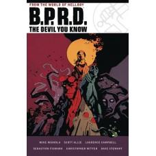 BPRD DEVIL YOU KNOW OMNIBUS HC (C: 0-1-2)
