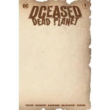 DCEASED DEAD PLANET #1 (OF 6) BLANK VAR ED