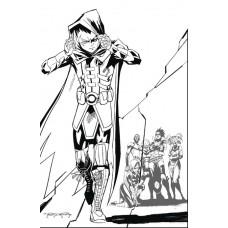 TEEN TITANS #43 KHARY RANDOLPH VAR ED