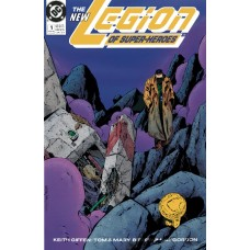 DOLLAR COMICS LEGION OF SUPER HEROES #1 1989