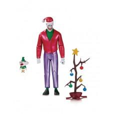 BATMAN THE ANIMATED SET CHRISTMAS WT THE JOKER AF