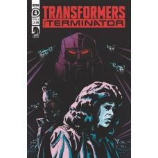 TRANSFORMERS VS TERMINATOR #4 (OF 4) CVR A FULLERTON