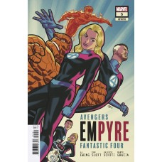 EMPYRE #5 (OF 6) MICHAEL CHO FF VAR (Offered Again)
