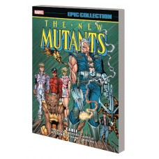 NEW MUTANTS EPIC COLLECTION TP CABLE (Offered Again)