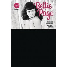 BETTIE PAGE #1 BLACK BAG PHOTO CVR (MR)