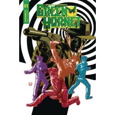 GREEN HORNET #1 CVR B JOHNSON