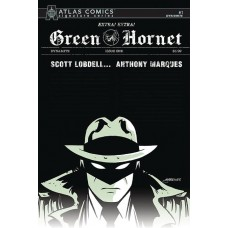GREEN HORNET #1 MARQUES SGN ATLAS ED (C: 0-1-2)