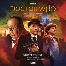 DOCTOR WHO ADV SUBTERFUGE AUDIO CD (C: 0-1-0)