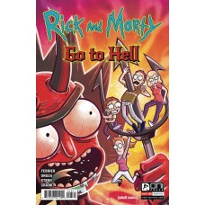 RICK AND MORTY GO TO HELL #3 CVR B OROZA