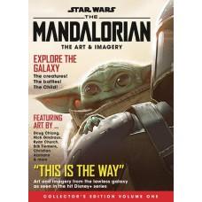 STAR WARS MANDALORIAN ART COLL NEWSSTAND ED #1