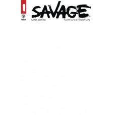 SAVAGE (2020) #1 CVR E BLANK VAR