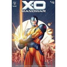X-O MANOWAR (2020) #4 CVR B RENAUD