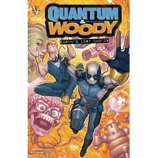 QUANTUM & WOODY (2020) TP EARTHS LAST CHOICE (C: 0-1-2)