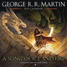 GEORGE RR MARTIN SONG ICE & FIRE 2021 WALL CAL (C: 1-1-1)