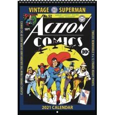 VINTAGE DC COMICS SUPERMAN 2021 WALL CALENDAR (C: 0-1-1)