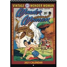 VINTAGE DC COMICS WONDER WOMAN 2021 WALL CALENDAR (C: 0-1-1)