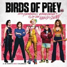 BIRDS OF PREY HARLEY QUINN 2021 WALL CALENDAR (C: 1-1-1)