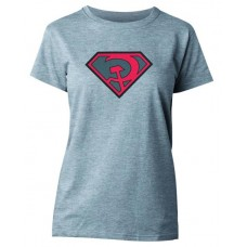 SUPERMAN RED SUN SYMBOL WOMENS T/S SM (C: 1-1-0)
