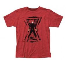 MARVEL BLACK WIDOW RED WIDOW PX FITTED T/S XXL (C: 1-1-2)