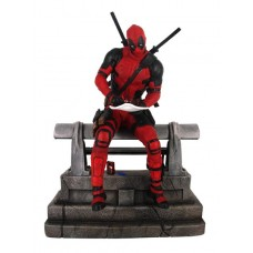 MARVEL PREMIER COLLECTION DEADPOOL MOVIE STATUE (C: 1-1-0)