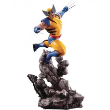 MARVEL UNIVERSE X-MEN WOLVERINE ART STATUE (Net) (C: 1-1-2)