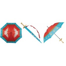 WONDER WOMAN SWORD HANDLE FULL SIZE UMBRELLA (C: 1-0-2)