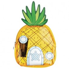 SPONGEBOB CLEAR PVC PINEAPPLE COIN PURSE (C: 1-0-2)
