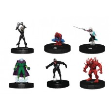 MARVEL HEROCLIX SPIDER-MAN VENOM CARNAGE FAST FORCES 6PK (C: