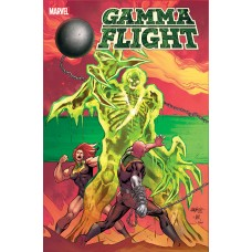 GAMMA FLIGHT #1 (OF 5) PACHECO CONNECTING VAR