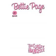 BETTIE PAGE & CURSE OF THE BANSHEE #1 CVR F BLANK AUTHENTIX
