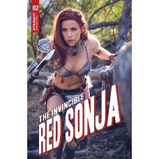INVINCIBLE RED SONJA #2 CVR E DOMINICA COSPLAY
