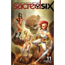 SACRED SIX #11 CVR C BERMUDEZ