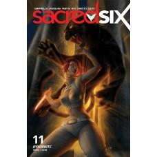 SACRED SIX #11 CVR E LOUW