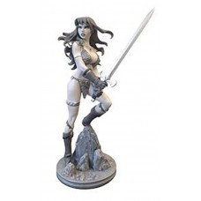 RED SONJA AMANDA CONNER STATUE B&W ARTIST PROOF (C: 0-1-2)