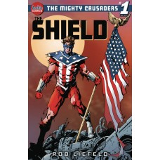 MIGHTY CRUSADERS ONE SHOT THE SHIELD CVR C AARON LOPRESTI
