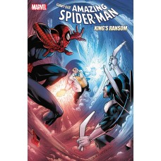 DF GIANT AMAZING SPIDERMAN KINGS RANSOM #1 SPENCER SGN (C: 0