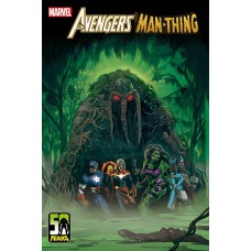 DF AVENGERS CURSE OF THE MAN THING #1 ORLANDO SGN (C: 0-1-2)