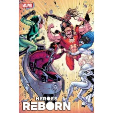 DF HEROES REBORN MAGNETO & MUTANT FORCE #1 SPOILER CHANG SGN