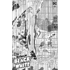 DF BATMAN BLACK & WHITE #6 ROMITA JR SGN (C: 0-1-2)