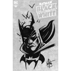 DF BATMAN BLACK & WHITE #1 HAESER SGN RMRK (C: 0-1-2)