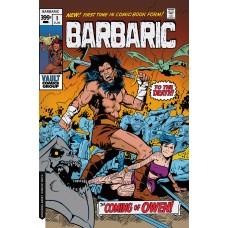 BARBARIC #1 CVR B HIXSON