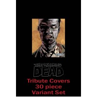 WALKING DEAD TRIBUTE IMAGE COVER VARIANT SET