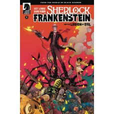 SHERLOCK FRANKENSTEIN & LEGION OF EVIL #1 (OF 4) MAIN