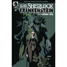 SHERLOCK FRANKENSTEIN & LEGION OF EVIL #1 (OF 4) VARIANT MIGNOLA