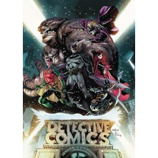 BATMAN DETECTIVE COMICS REBIRTH DLX COLL HC BOOK 01