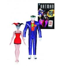BATMAN ANIMATED MAD LOVE JOKER & HARLEY QUINN 2 PK AF